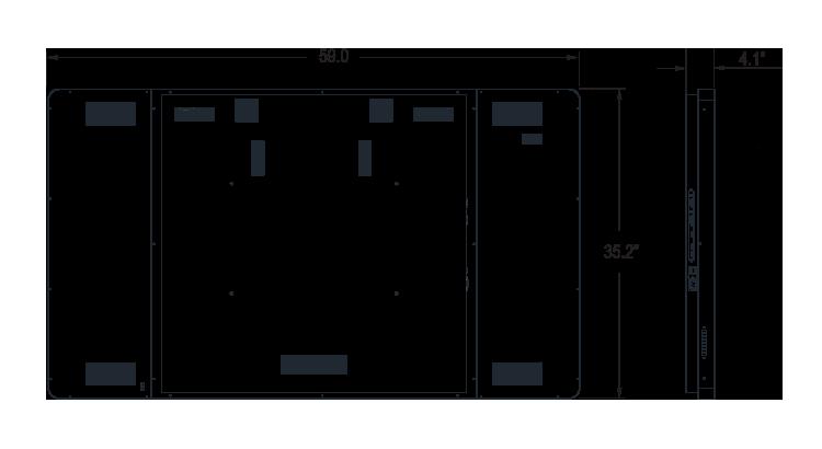 I65ZI-OI-45P0D Dimension
