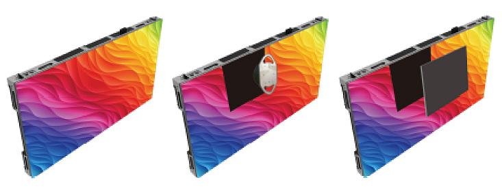 2.5mm Pixel Pitch LED Tile Display