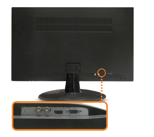 27-inch HDMI, BNC input and output