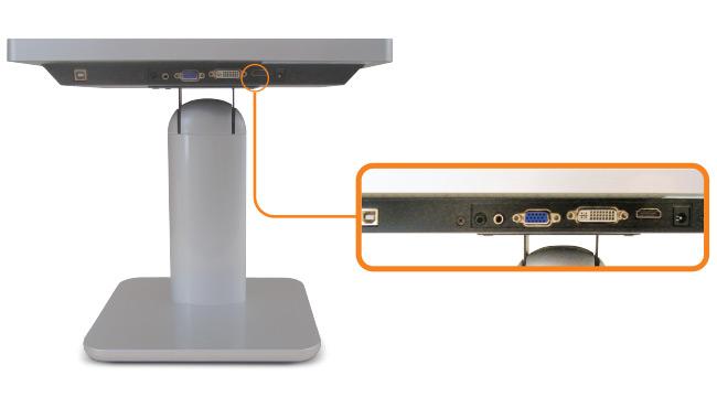 10-inch Desktop Touchscreen Input Source