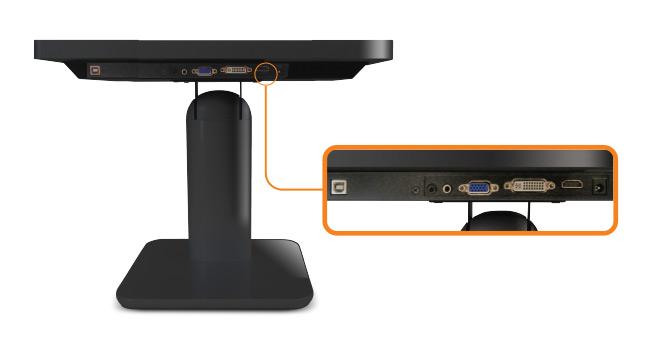 18.5-inch Wide Desktop Touchscreen Input Source