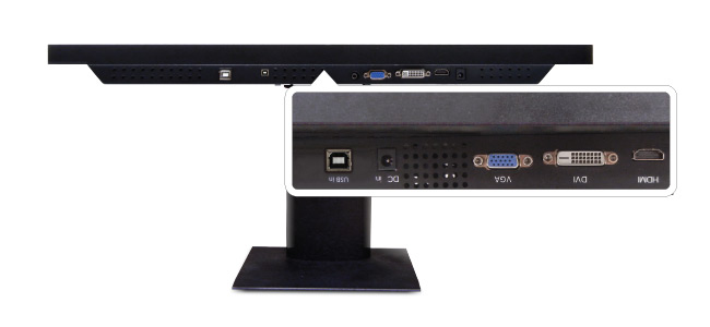 21.5-inch Wide Full HD Desktop Touchscreen Input Source