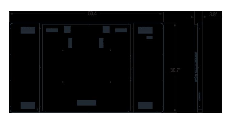 I55ZI-OI-45P0D Dimension
