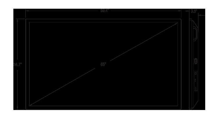 I65ZI-OC-K5P0 Dimension