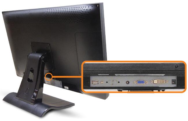 21.5-inch Desktop/POS Touchscreen Input Source