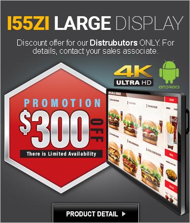 55-Inch Digital Signage Large Format SALE!