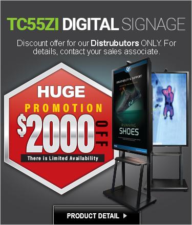 Dual Display Digital Signage & Temperature Screening SALE!
