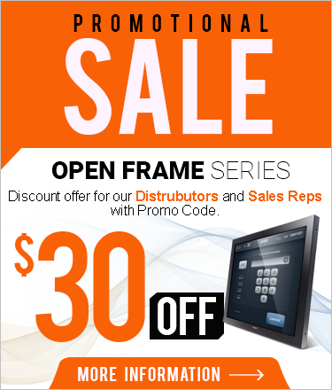 Open Frame Promotional Sale