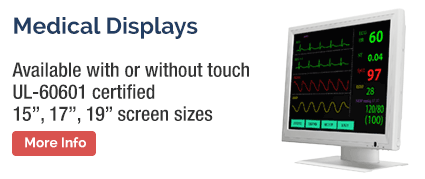 Medical Touch Screen Monitors