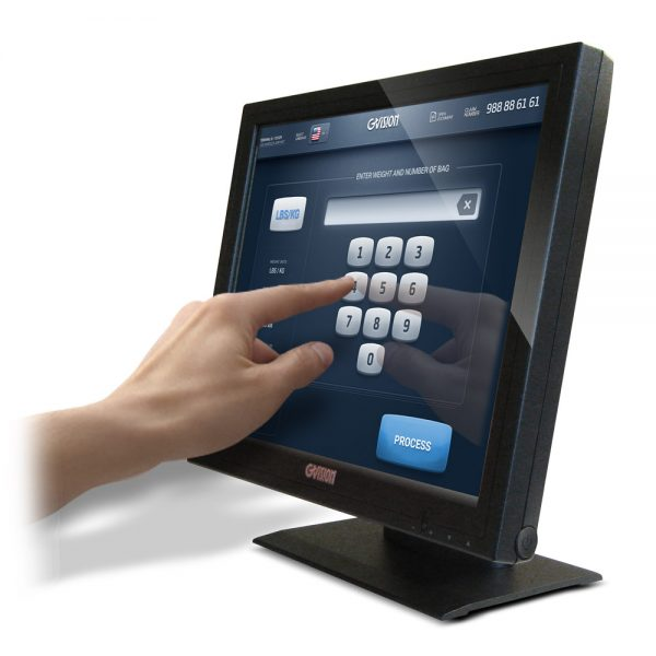 """P15BX - 15"""" 5-Wire Resistive Touchscreen"""