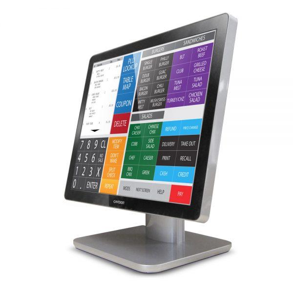 "15"" desktop projected capacitive PCAP touchscreen monitor"