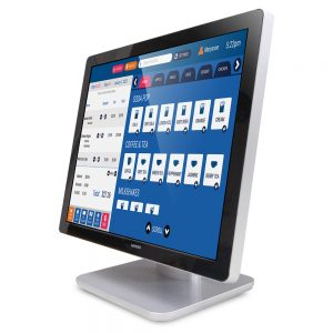 "19"" desktop projected capacitive PCAP touchscreen monitor"
