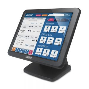 "15"" desktop 5-wire resistive touchscreen monitor"
