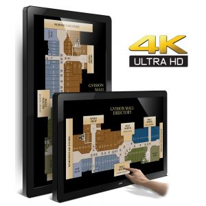 43-Inch 4K UHD Large Format Touch Monitor