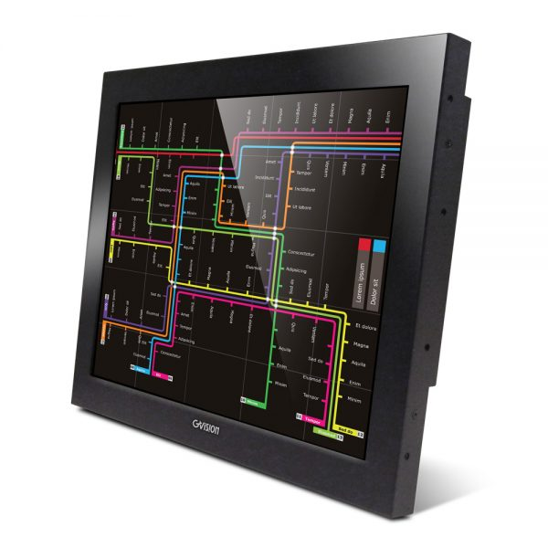 "O15AX - 15"" Open Frame 10-Points PCAP Touch Monitor"
