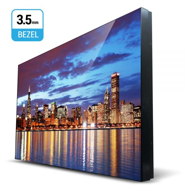 49-Inch 3.5mm Super Slim Bezel Video Wall Monitor