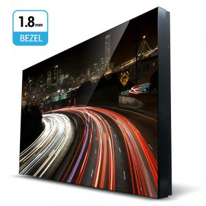 55-Inch 1.8mm Ultra Slim Bezel Video Wall Monitor