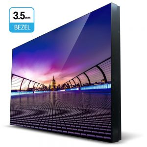 55-Inch 3.5mm Super Slim Bezel Video Wall Monitor