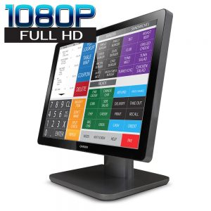 "19"" wide desktop projected capacitive PCAP touchscreen monitor"