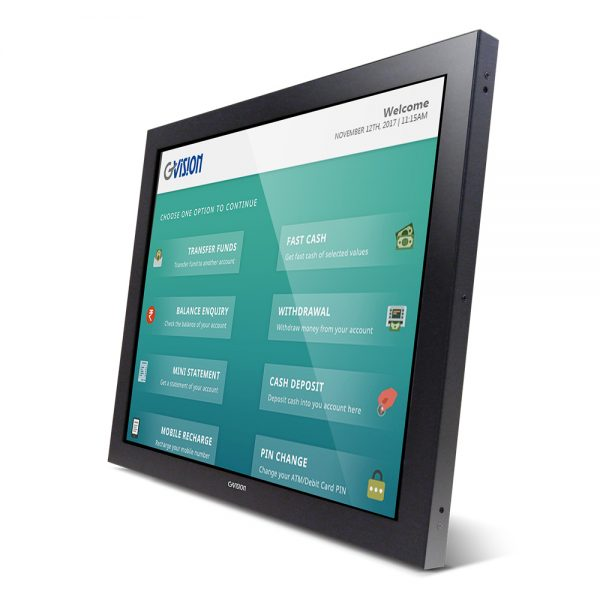 """O19AH - 19"""" Open Frame Projected Capacitive Touch Monitor"""