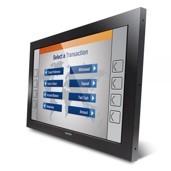 "22"" Open Frame Projected Capacitive Touch Monitor"