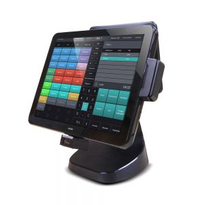 15-Inch Fanless Dual Screen Touch POS