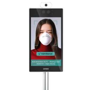 8-Inch Temperature Screening Tablet KIOSK w/ Built-In Android