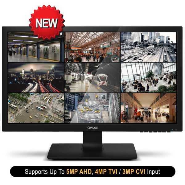 27-Inch Security CCTV Monitor Front View
