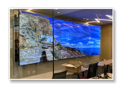 Illinois Curved Video Wall